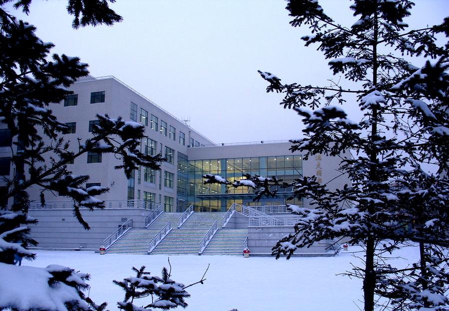 冬日逸夫图书馆