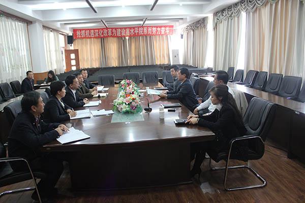 申林书记深入土木学院开展工作调研-黑龙江工程学院